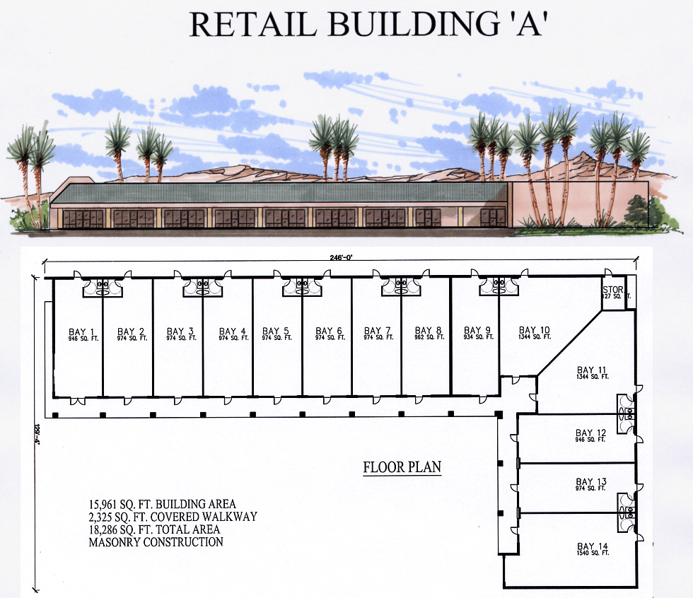 Retail Building Plan A