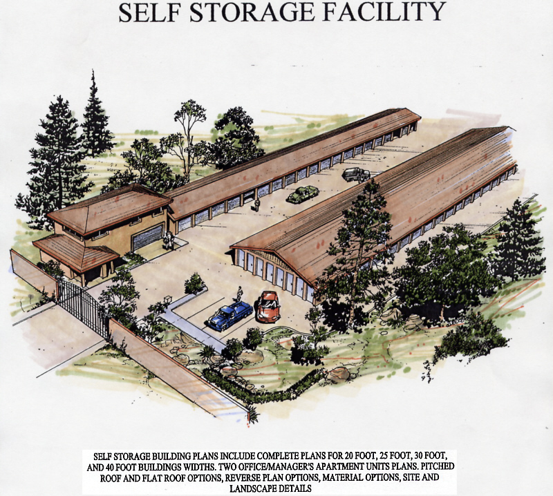 Self Storage Facility Plan A