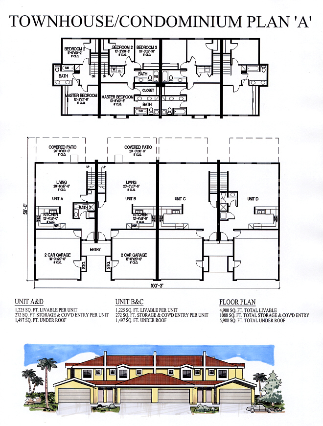 Condo Townhouse Plan A