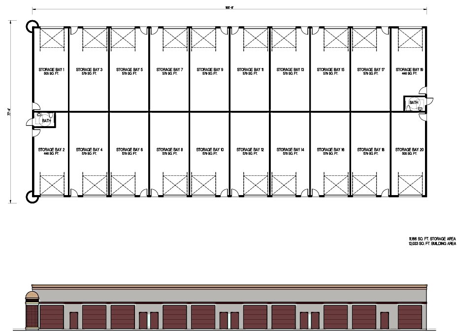 commercial storage building plans